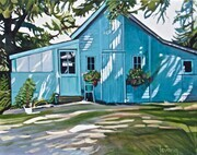The Blue Shed - 16x20